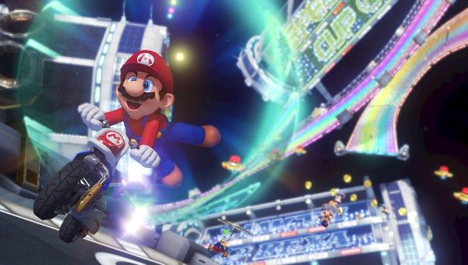 'Mario Kart 8'