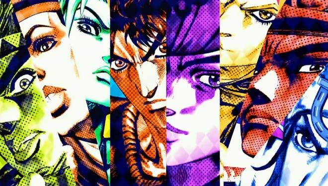 "Colorful characters rule the roost in ""JoJo's Bizarre Adventure All Star Battle."""