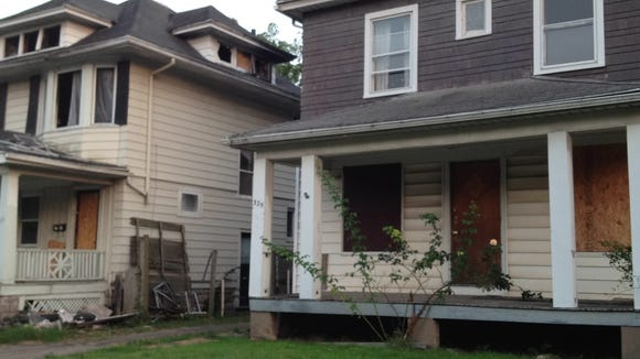A house's state of (dis)repair could be seen as indicator of the health of the neighborhood.