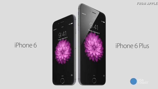 Apple announces iPhone 6 and 6 Plus