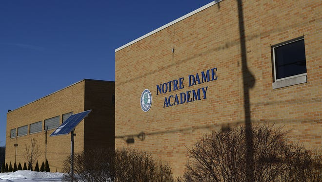 Notre Dame Academy on Green Bay's west side.