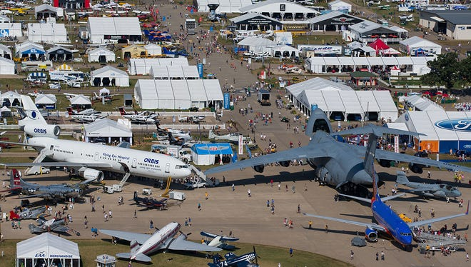 EAA AirVenture, the world's largest aviation celebration, takes place at Wittman Regional Airport in Oshkosh from July 28 to Aug. 3.