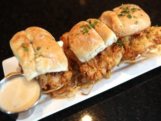 For smaller bites, Saints Pub + Patio serves tenderloin