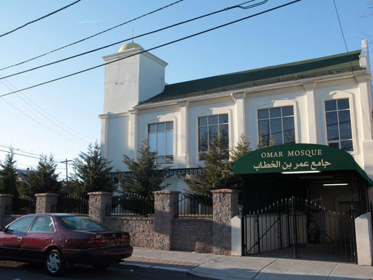 The Omar Mosque on Getty Ave. in Paterson.