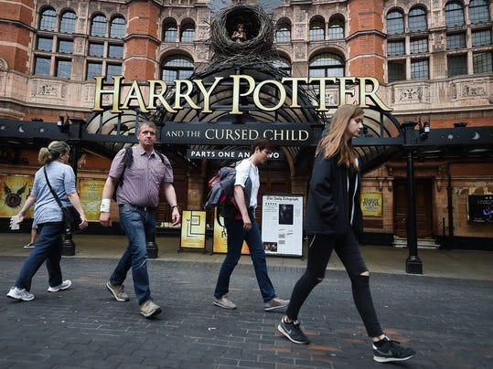 J.K. Rowling's Harry Potter and the Cursed Child opens officially at London's Palace Theatre July 30.