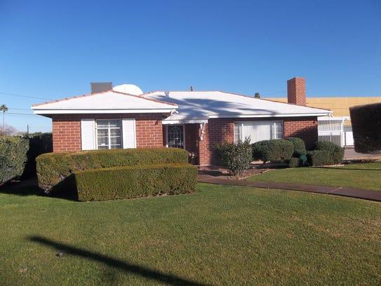 Built in 1950, the Winstona Aldridge home at 1326 E.
