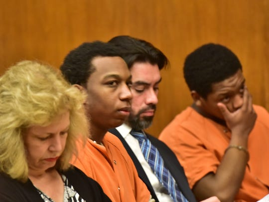 Jeavonte Dennis, left, was found guilty of murder in the death of Nazerah Bugg. Nyje Johnson was found guilty of aggravated manslaughter and weapons charges