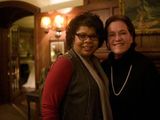White House correspondent April Ryan with Cranbrook