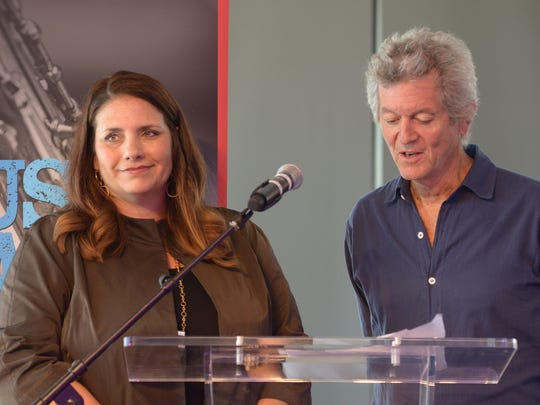 Rodney Crowell, right, is encouraging the music industry