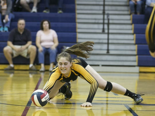 Grace Chlebove was named the Monroe County Division IV Player of the Year last fall, All-Greater Rochester and first-team all-state for state title winner, Honeoeye Falls-Lima.