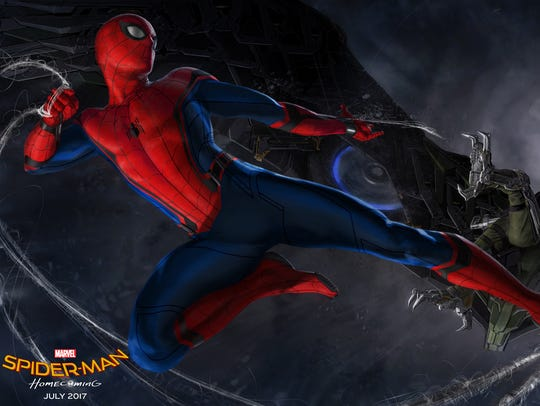 'Spider-Man: Homecoming' concept art features the superhero