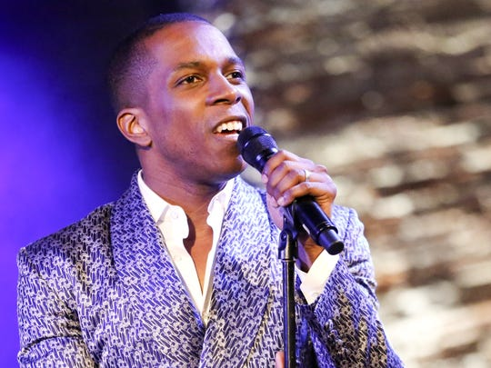 Leslie Odom Jr. is seen June 6, 2016 at City Winery in New York City.