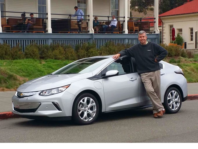 Detroit News Auto Critic Henry Payne got to take the