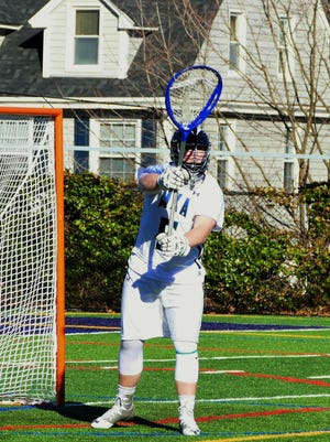 Senior Alex Melitz is 6-4 with 89 saves in the cage for Montclair Kimberley.