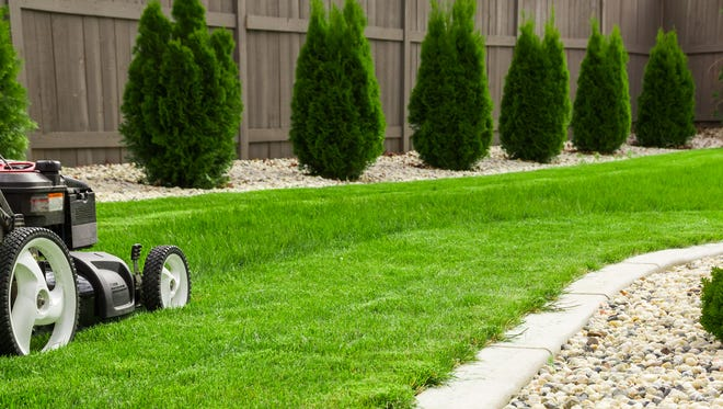 Here's an additional benefit of yard work: It burns calories.