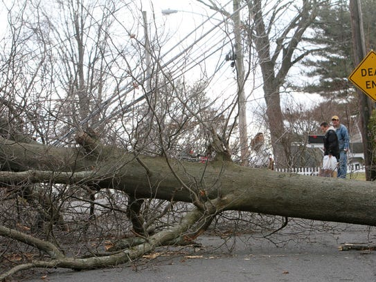 Residents on Kensico Knolls Place in North White Plains