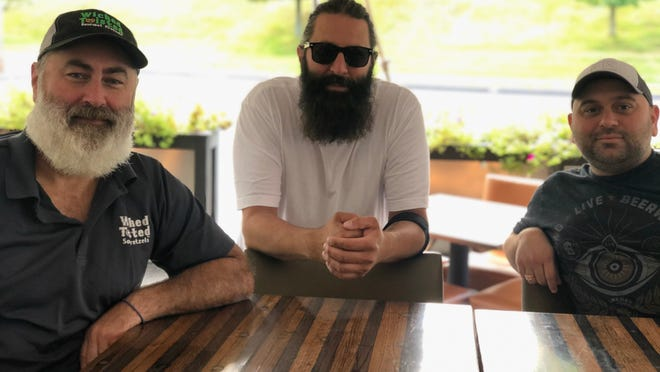 Meet Grafton's biggest advocates for a brewery opening in town: Reunion Tap & Table owners, from left, Shawn Briggs, Josh Briggs and Sargon Hanna.