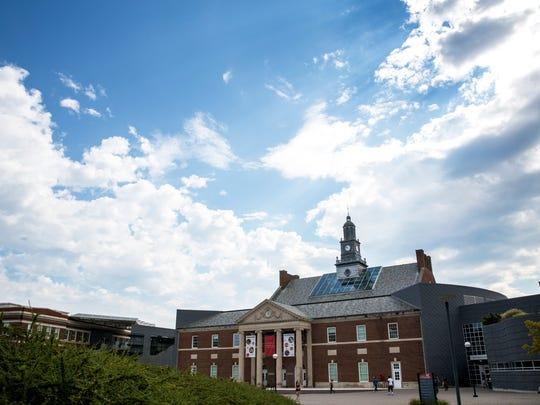 Saturday, August 19, 2017: The University of Cincinnati.