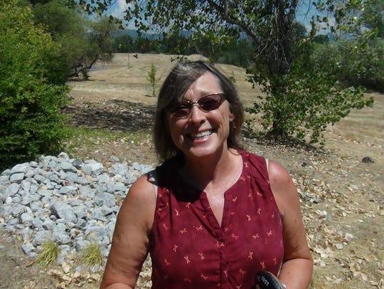Redding artist Sue Crowe
