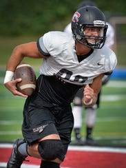 St. Cloud State University wide receiver Jameson Parsons