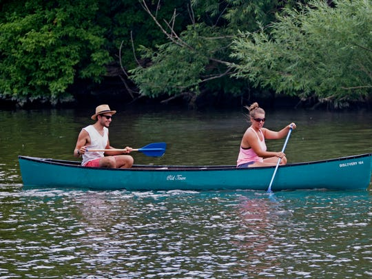 Milwaukee River canoeing comes with a cup of coffee