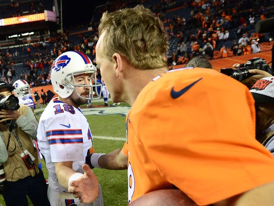 The last time the Bills played the Broncos in 2014,