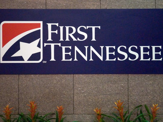 First Tennessee Bank sign