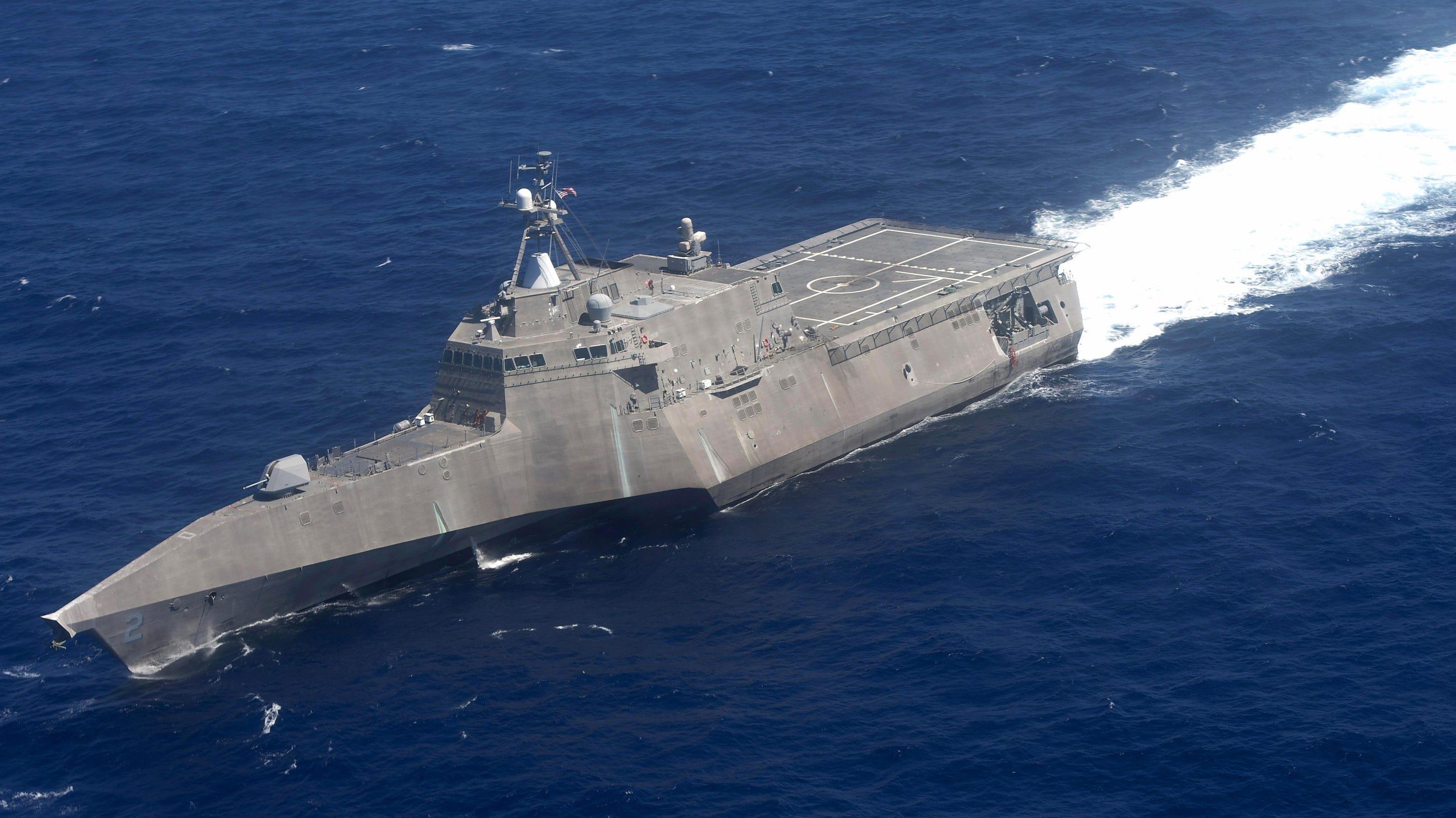 Navy Head Uss Cincinnati Part Of Tradition