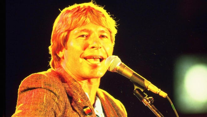 John Denver, pictured here at Farm Aid in 1985, will be the subject of a career-spanning box set, due Nov. 4.