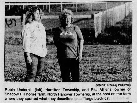 Asbury Park Press clipping from May 16, 1988 about