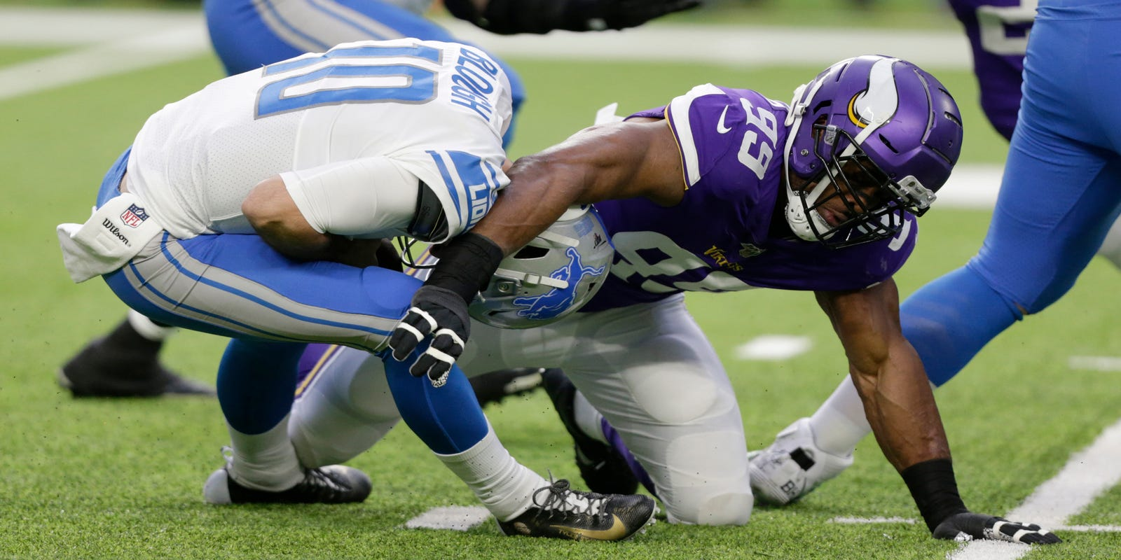 The 56 seconds that cost Detroit Lions against the Minnesota Vikings