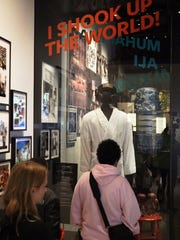 """Muhammad Ali: A Force for Change"" exhibit at the Smithsonian"