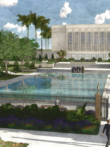 The LDS church revealed plans for a sweeping temple renovation on April 10. The neoclassical temple is 91-years-old.
