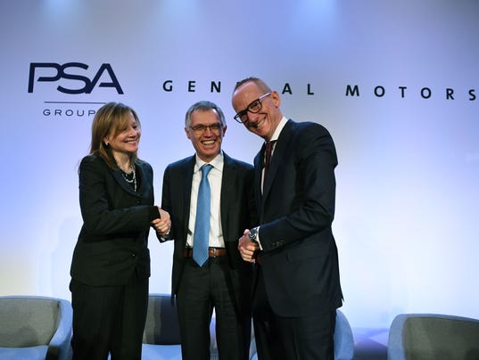 FRANCE-BRITAIN-GERMANY-US-AUTO-COMPANY-PSA-OPEL
