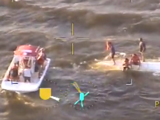 Boat rescue in Indian River