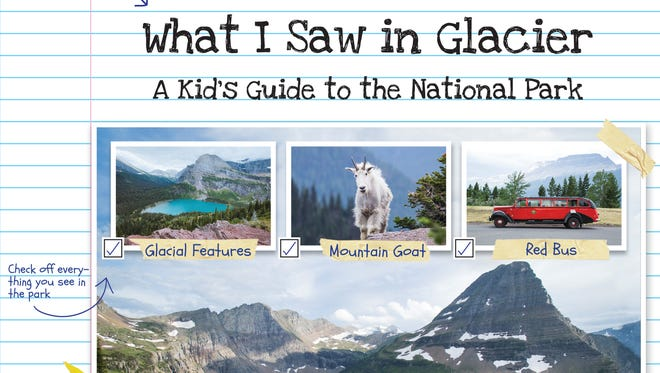 """What I Saw in Glacier: A Kid's Guide to the National Park"" by Ellen Horowitz and Christopher Cauble"