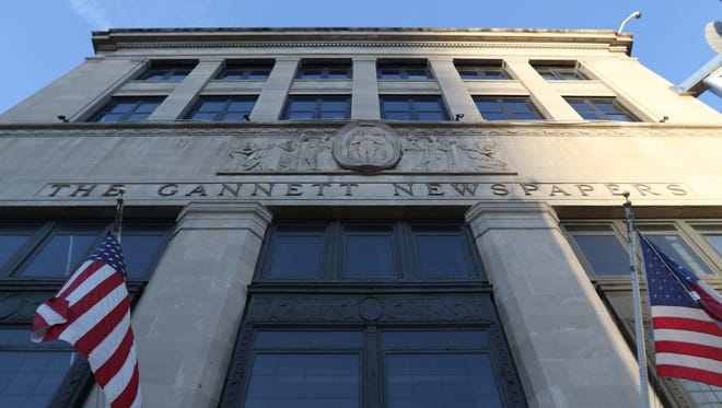 The Democrat and Chronicle building was once the headquarters of Gannett Co. Inc.