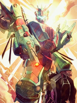 """Victorion makes her giant presence felt in her """"Transformers"""" comic-book debut next month."""