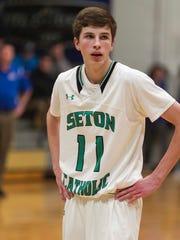 Tanner Sinicki, Seton Catholic Central senior.