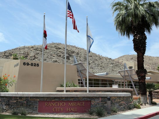 Rancho Mirage City Hall.