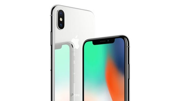 Image shows the iPhone X.