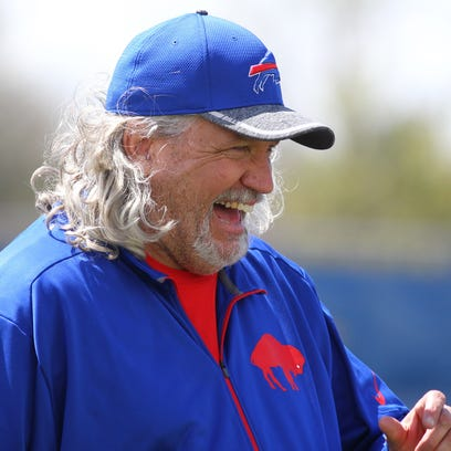 Rob Ryan joined the Bills coaching staff in January.