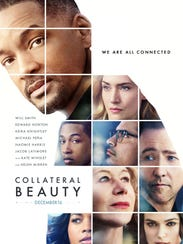 """The movie poster for """"Collateral Beauty."""""""