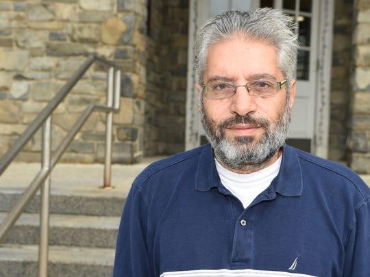 Mahmoud Zahiri of the City of Poughkeepsie.