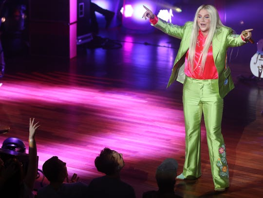 Kesha performs at the Ryman Wednesday September 27,