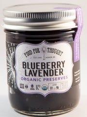 Blueberry Lavender Preserves