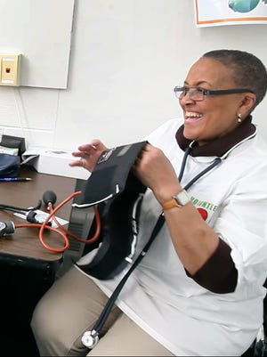 Phyllis Jackson, a registered nurse and ordained minister, founded the Interdenominational Health Ministry Coalition, which gives the same importance to spiritual and mental health as physical health.