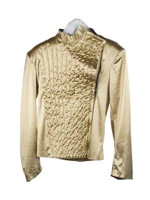 "Michael Jackson's shirt, ""Dangerous World Tour,"" 1992."
