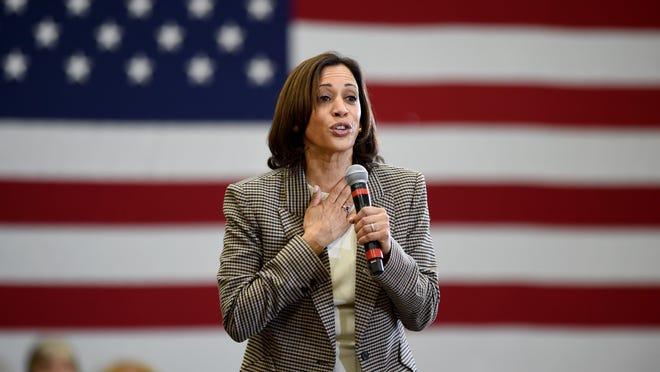 California senator Kamala Harris on Tuesday was chosen by Democratic presidential nominee Joe Biden as his running mate for this year's election.
