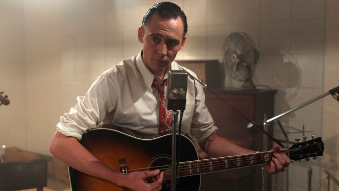"""Tom Hiddleston as Hank Williams in a scene from """"I Saw The Light."""""""